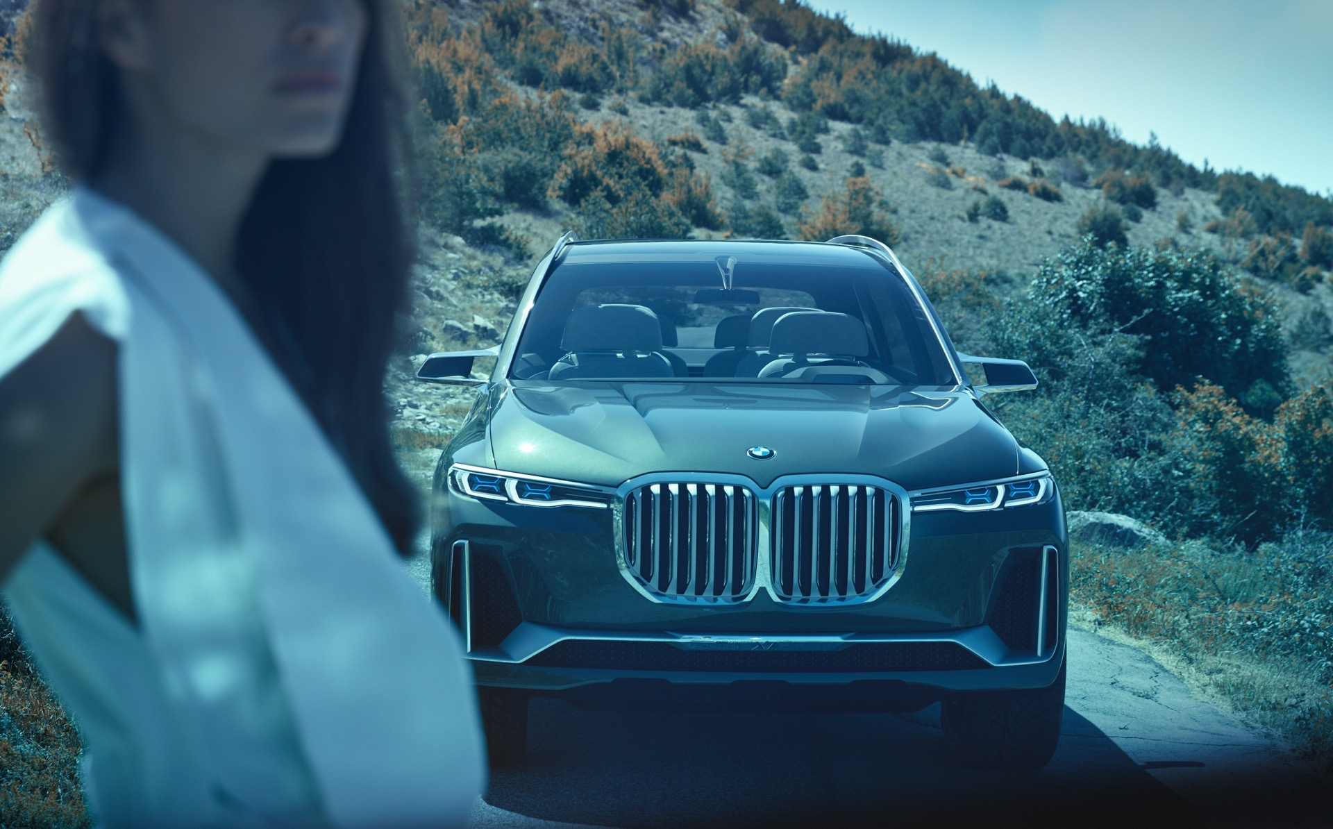 World Premiere Bmw X7 Concept Iperformance