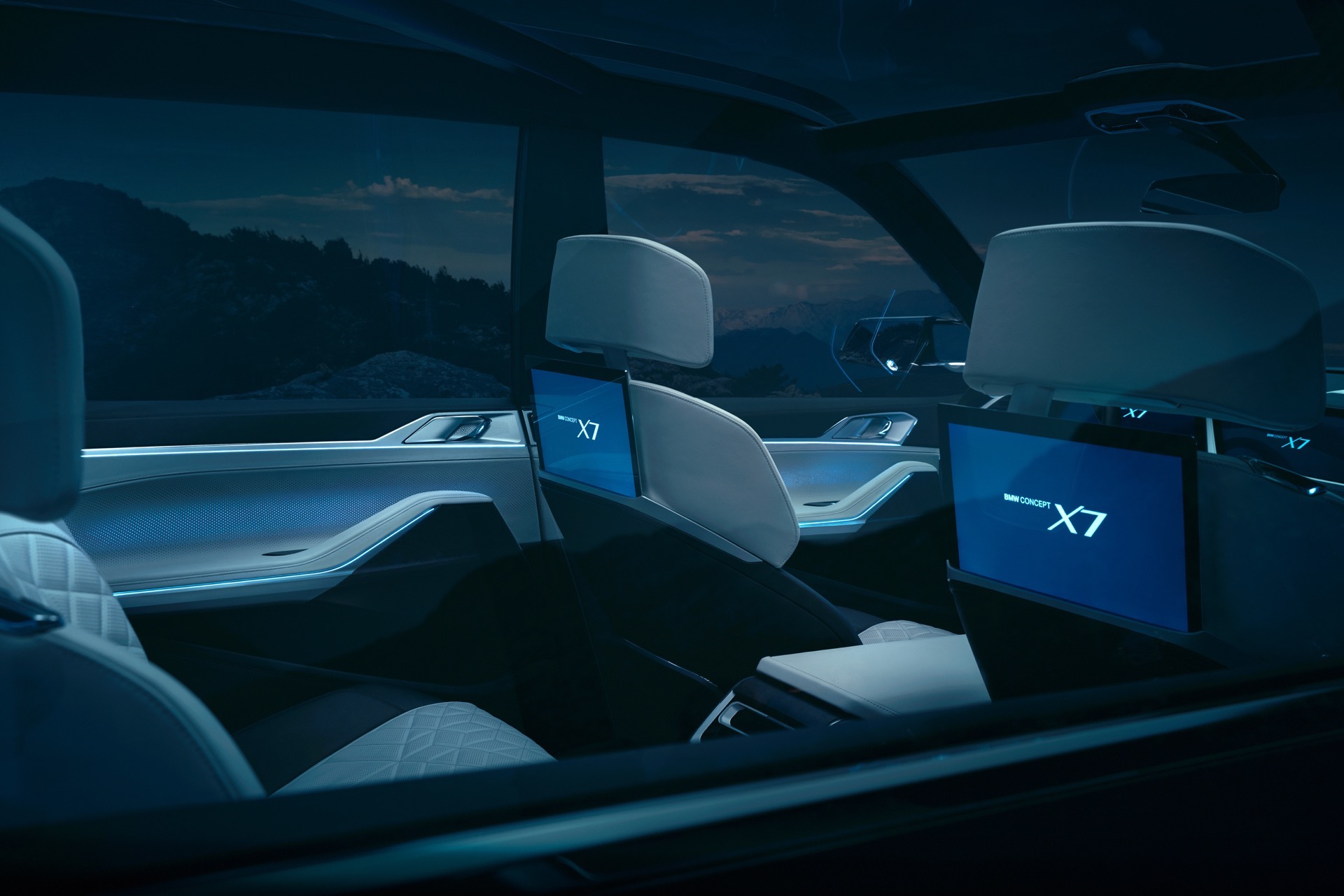 World Premiere Bmw X7 Concept Iperformance