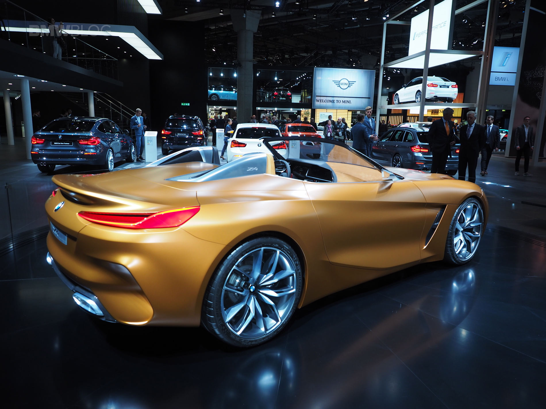 2017 Frankfurt Auto Show The New Bmw Concept Z4 Is A Beauty