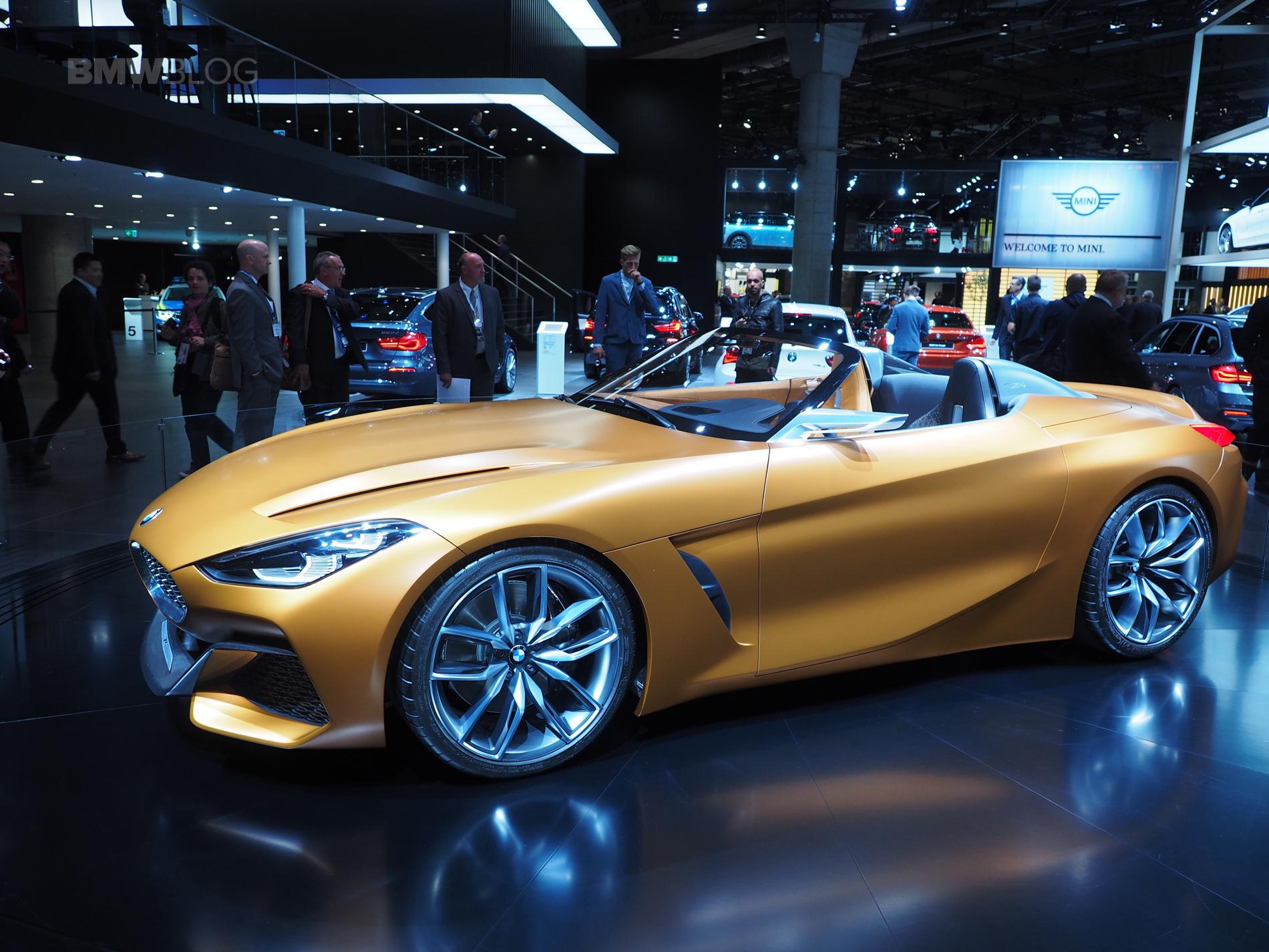 2017 frankfurt auto show: the new bmw concept z4 is a beauty