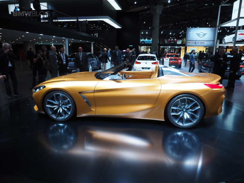 BMW Driving School >> 2017 Frankfurt Auto Show: The new BMW Concept Z4 is a beauty
