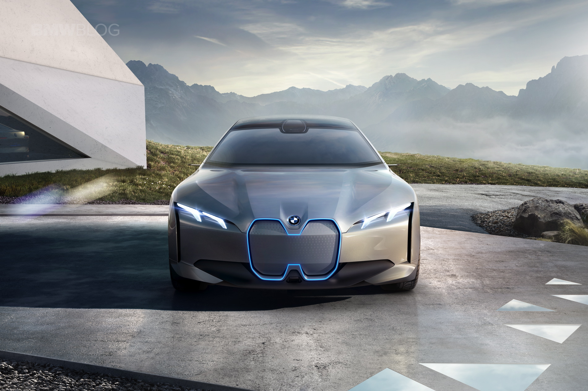 Bmw Introduces The Tesla Fighter Bmw I Vision Dynamics