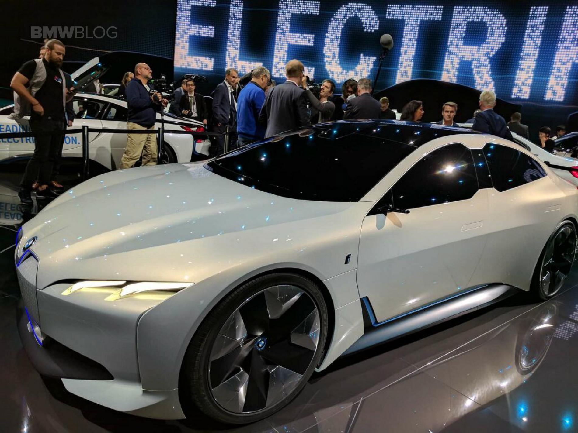 Bmw Introduces The Tesla Fighter Bmw I Vision Dynamics