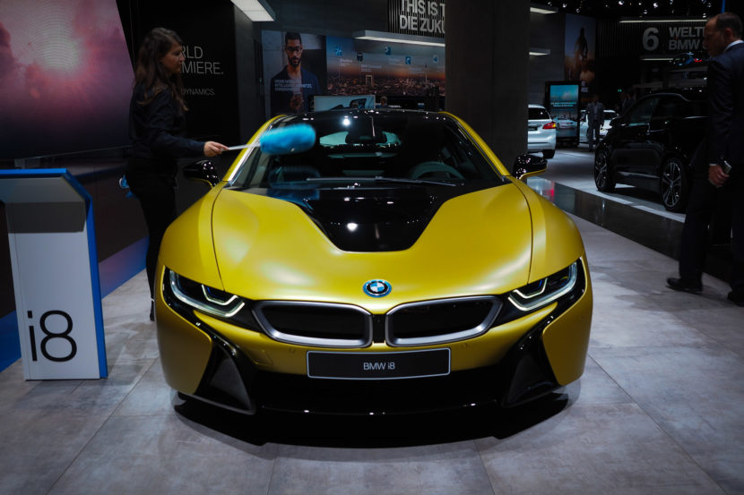 The Stunning Bmw I8 Protonic Frozen Yellow Edition Shines In Frankfurt