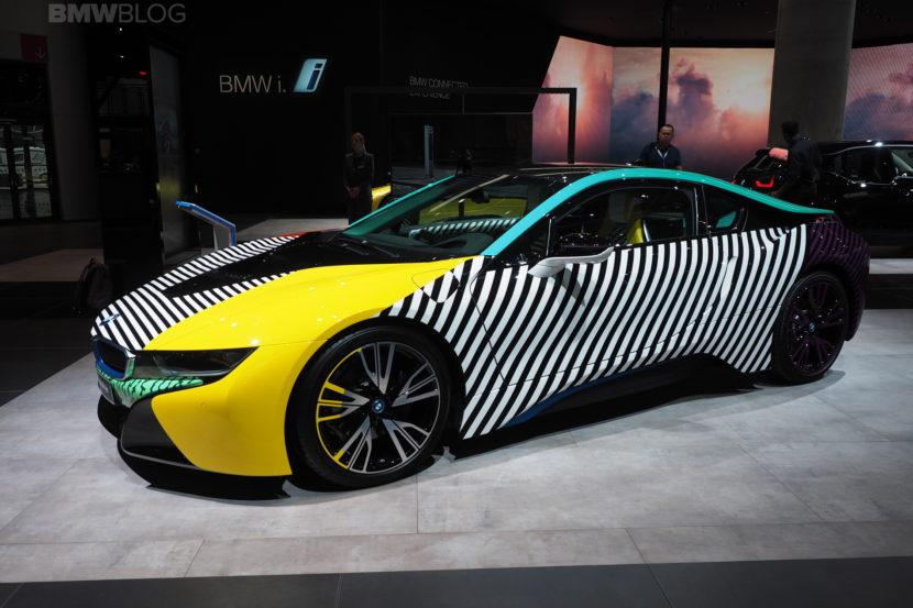 Frankfurt Auto Show BMW I Memphis Style Edition - Memphis car show