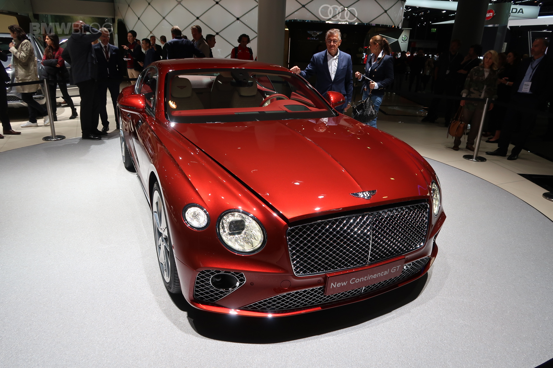 2017 Frankfurt Auto Show The New Bentley Continental Gt