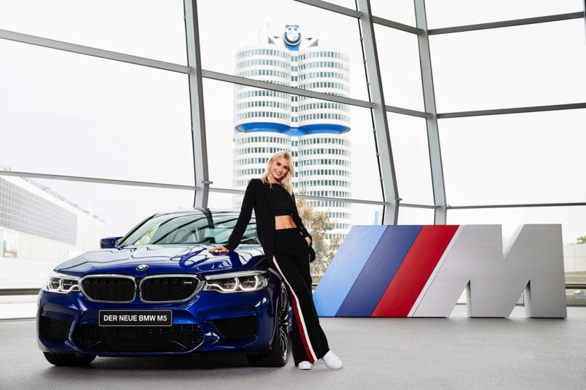 Lena Gercke BMW M 01 830x553