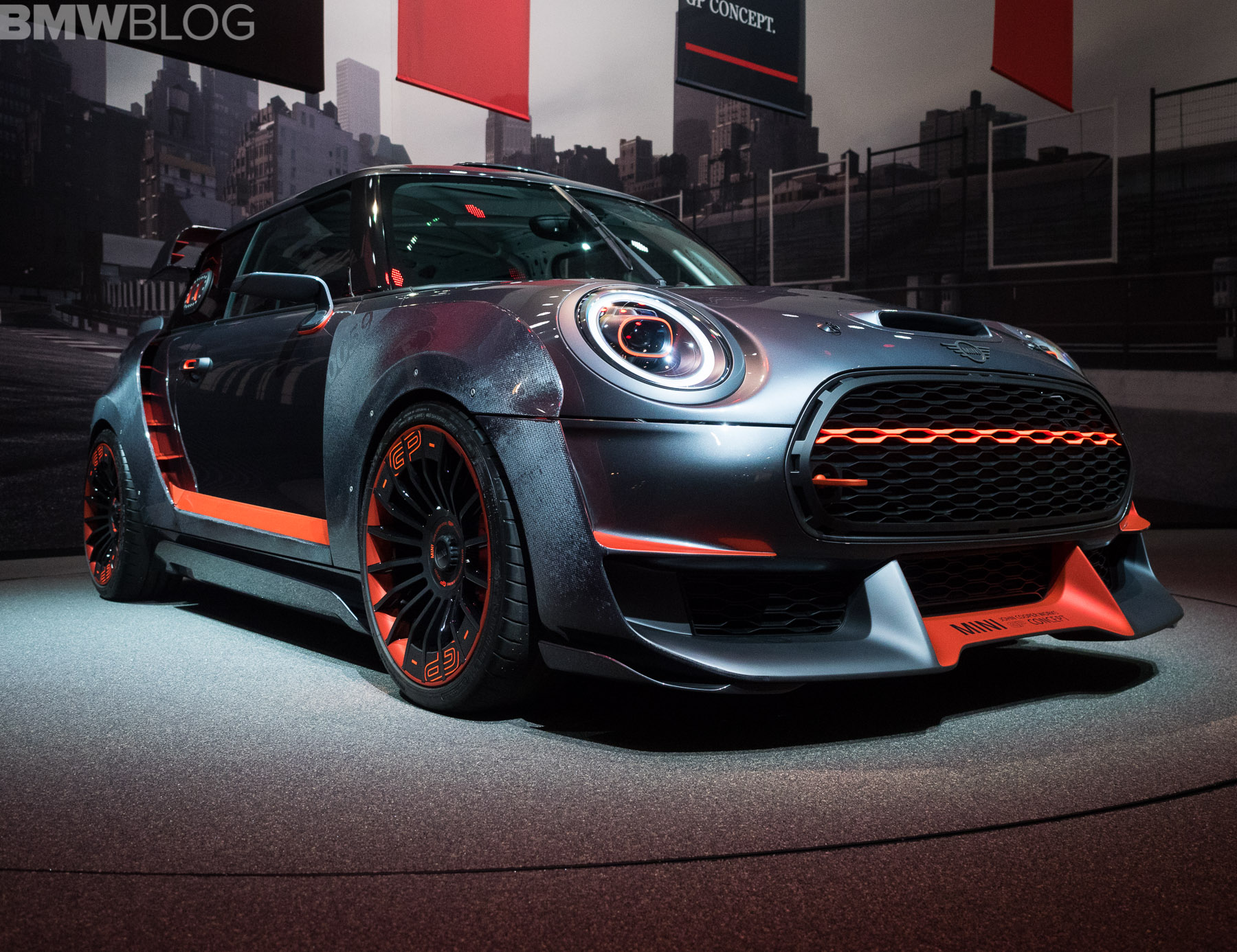 video: the mini john cooper works gp concept - for the few