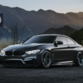 Matte Black BMW M4 With HRE Wheels Image 1 120x120