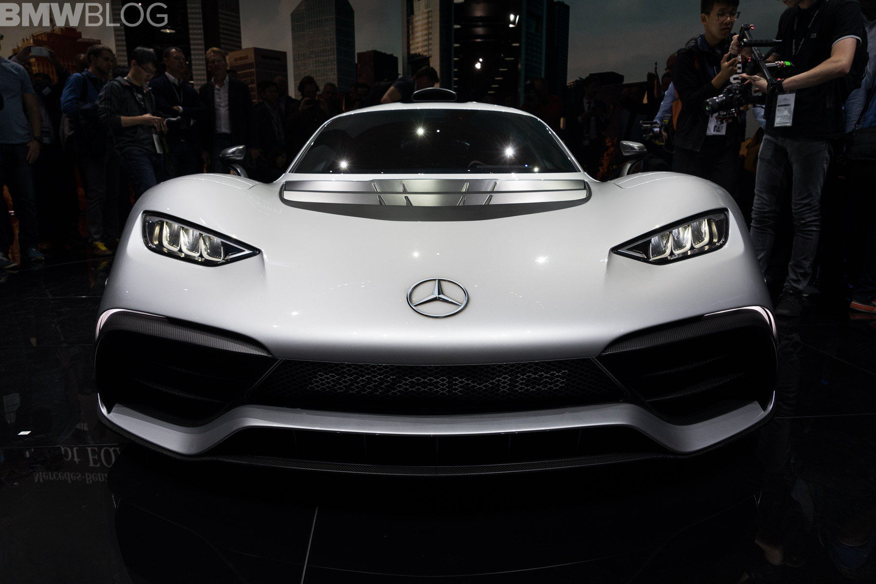 2017 Frankfurt Auto Show Mercedes Amg Project One With
