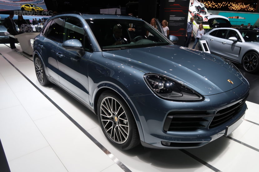 Porsche Cayenne Coupe To Take On Bmw X6 In 2019