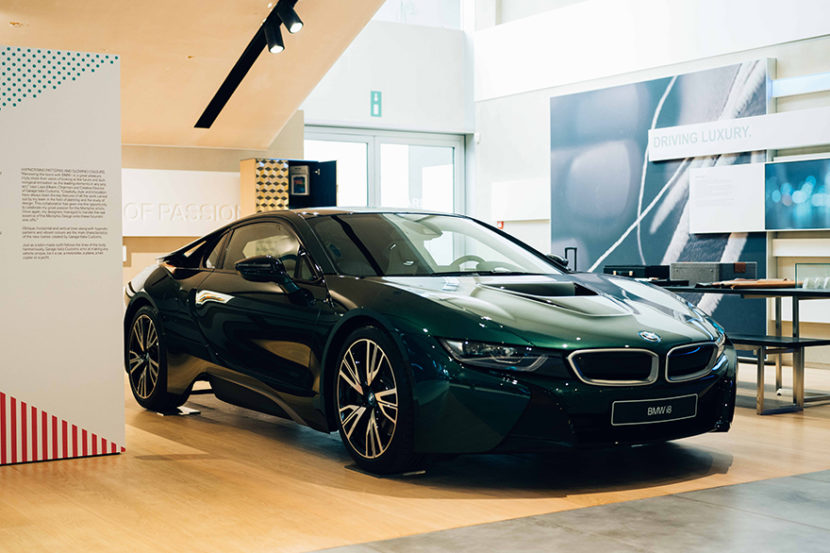 OK BMW i8 British Racing Green 12 1 830x553