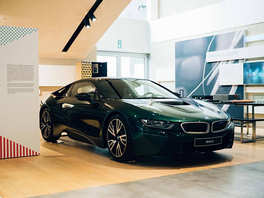 OK BMW i8 British Racing Green 12 1