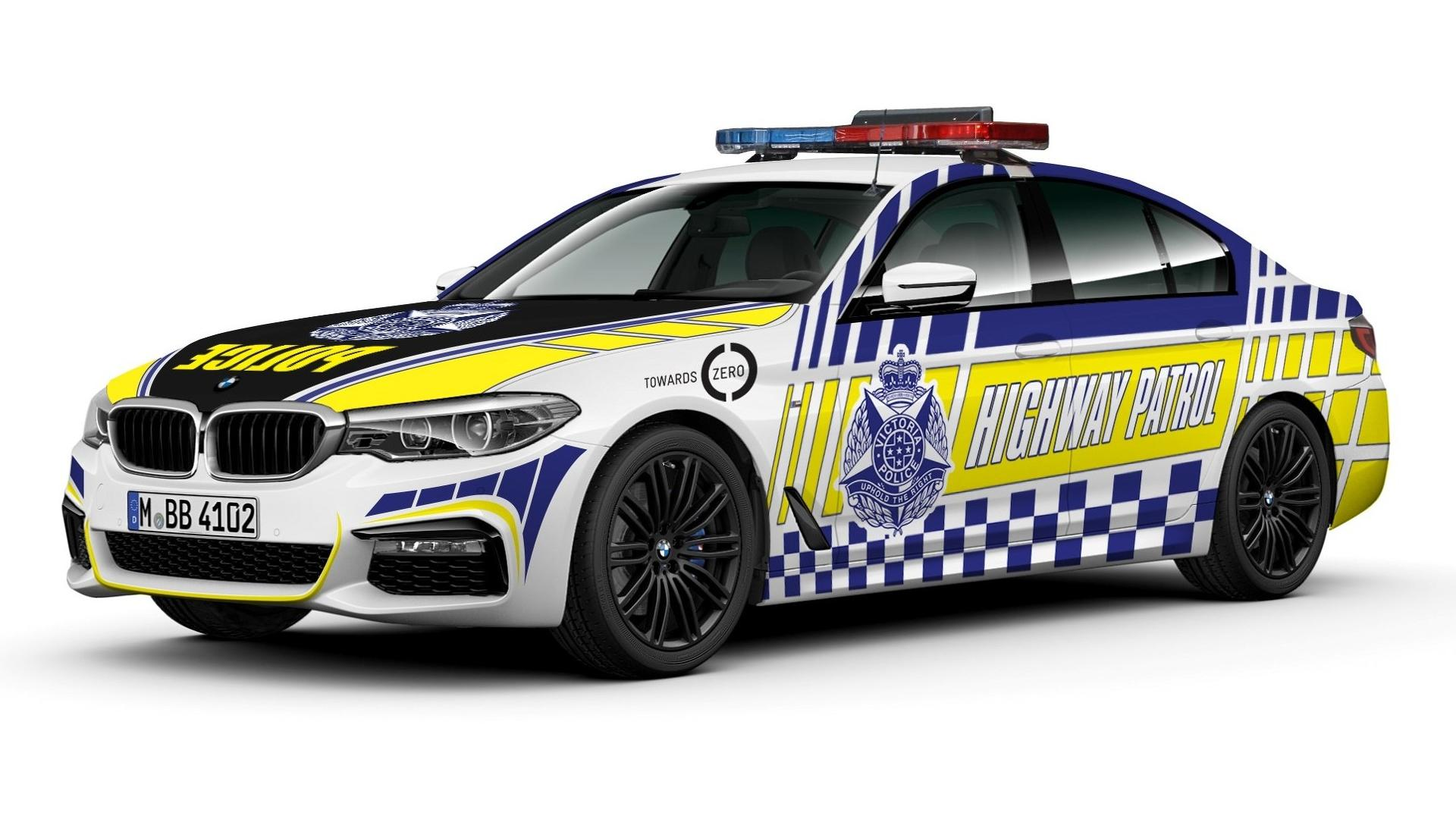 Australian Police Force To Get Bmw 530d Highway Patrol Cars