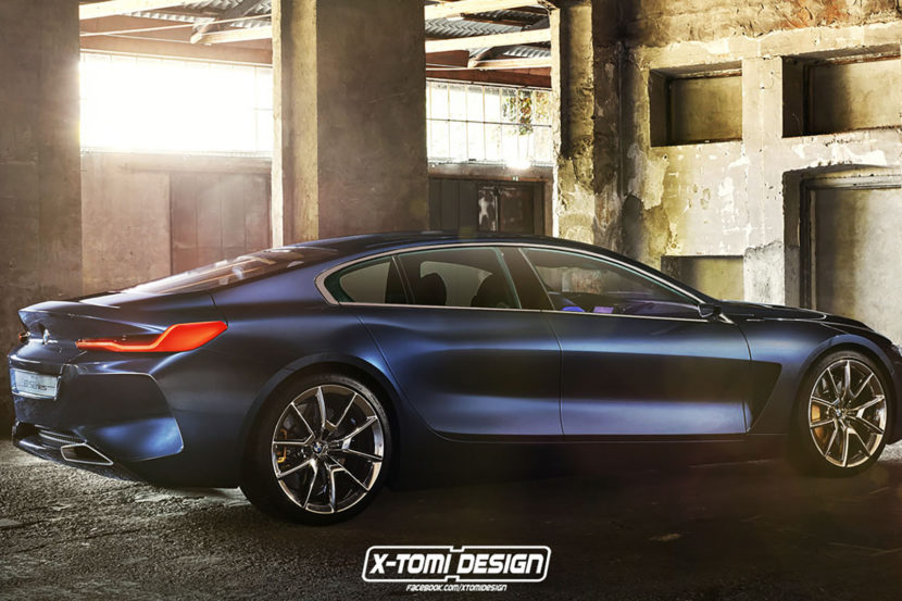 Bmw 8 Series Gran Coupe Codename G16 Arriving In Fall 2019