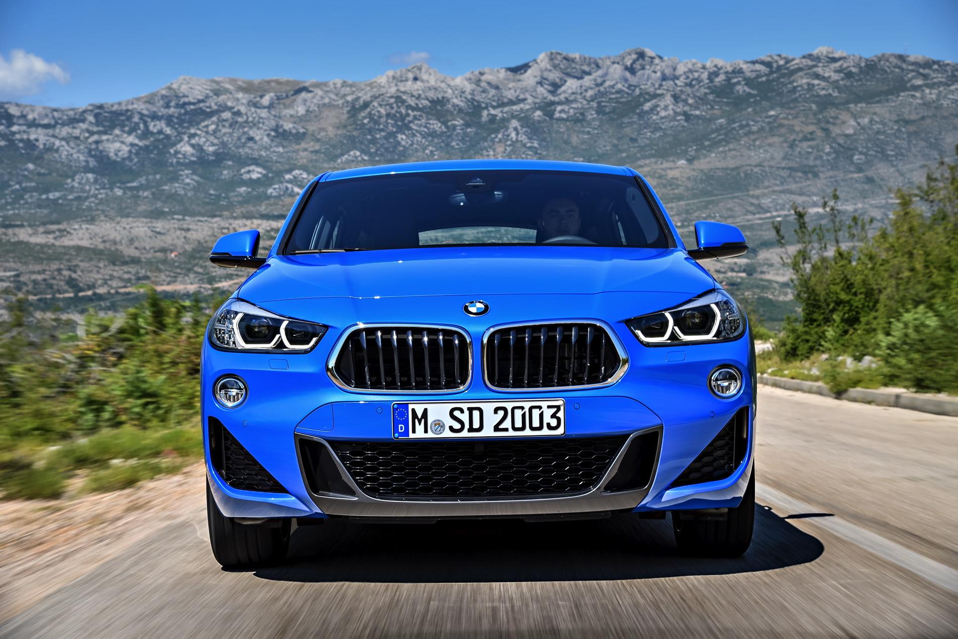 2018 BMW X2 M Sport F39 Misano Blau 0101