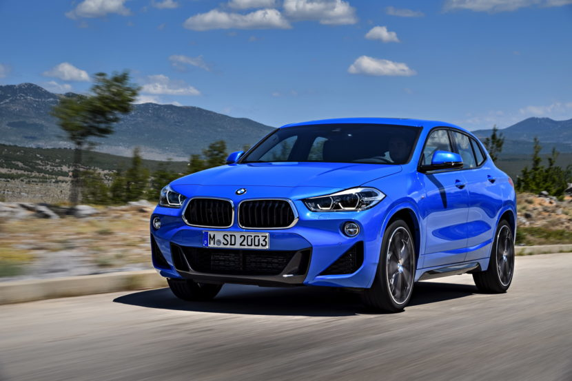 First Videos Of The New Bmw X2