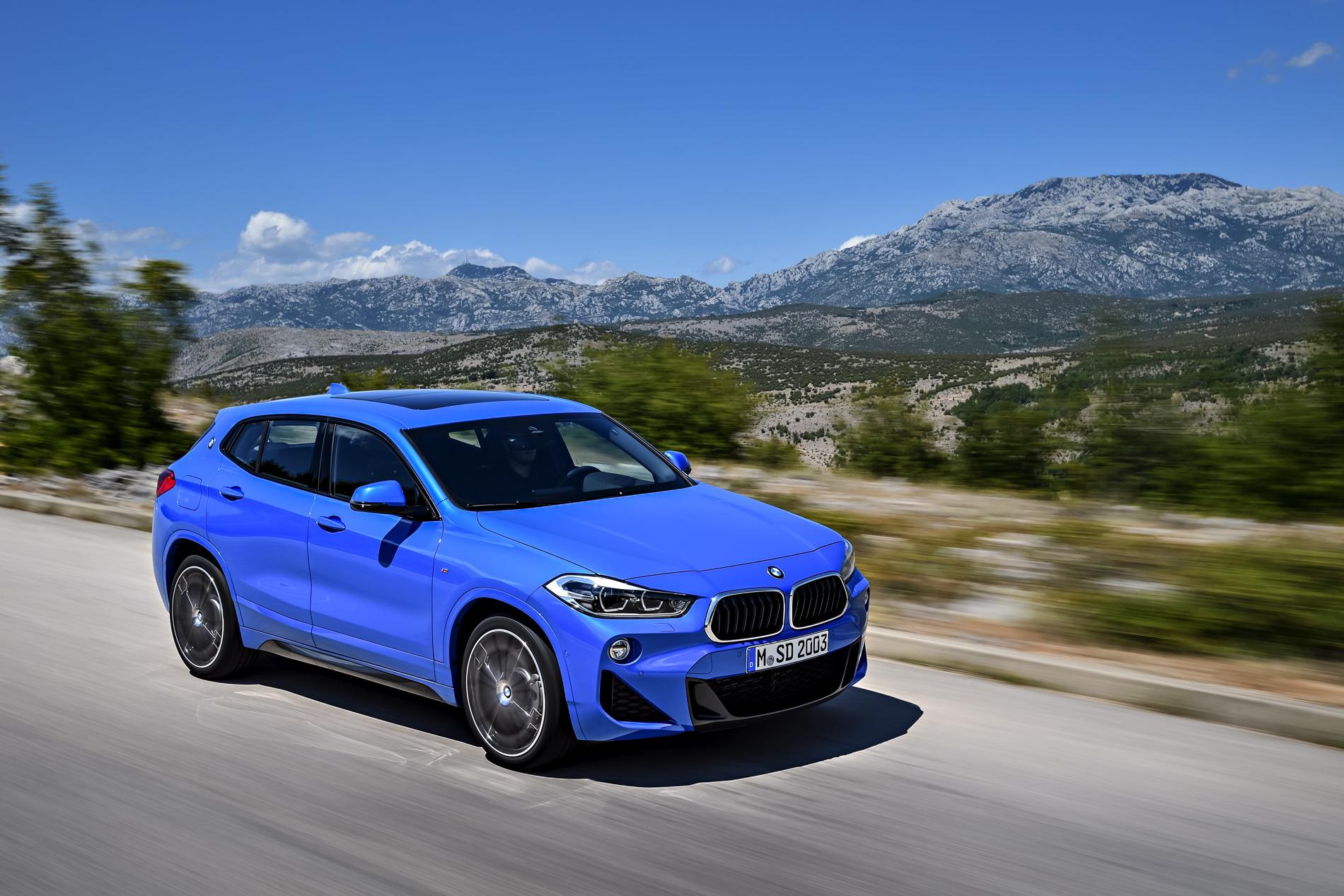 2018 BMW X2 M Sport F39 Misano Blau 0122