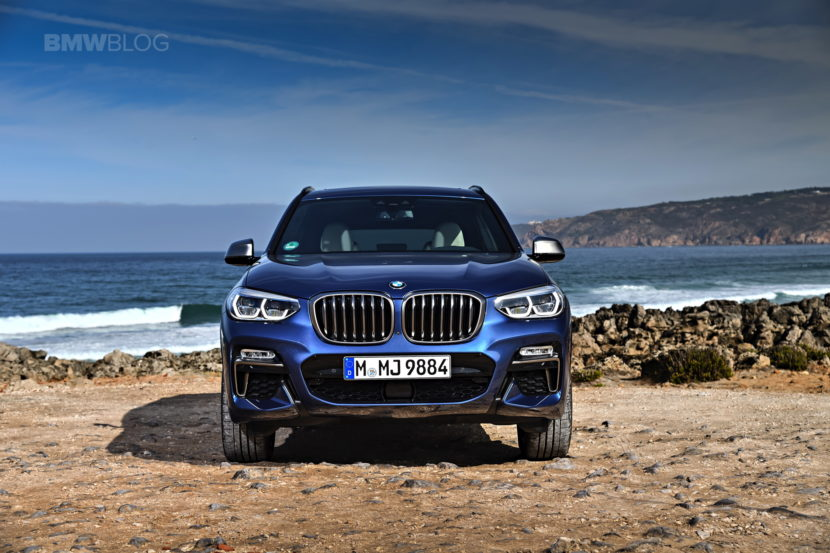2018 BMW X3 M40i photoshoot 06 830x553