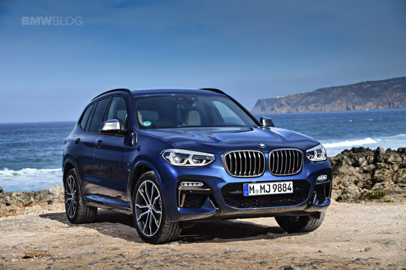 2018 BMW X3 M40i photoshoot 10 830x553