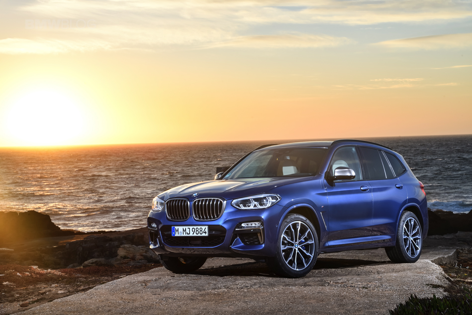 2018 BMW X3 M40i photoshoot 26