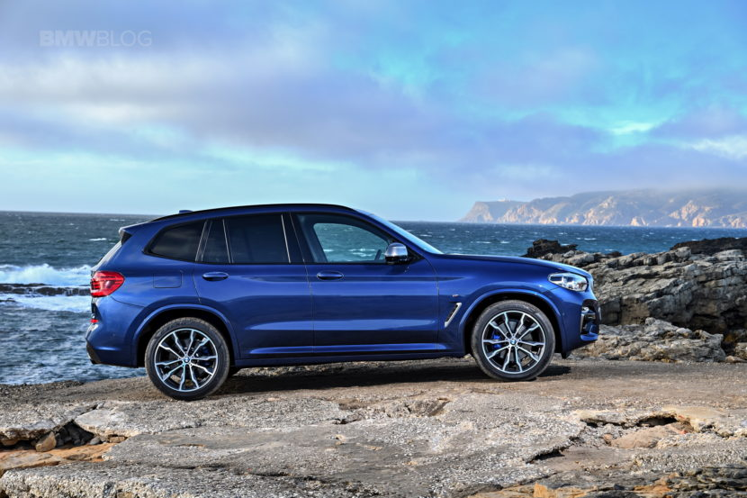 2018 BMW X3 M40i photoshoot 36 830x553