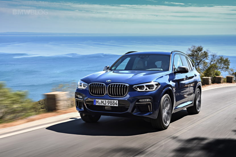 2018 BMW X3 M40i photoshoot 41 830x553