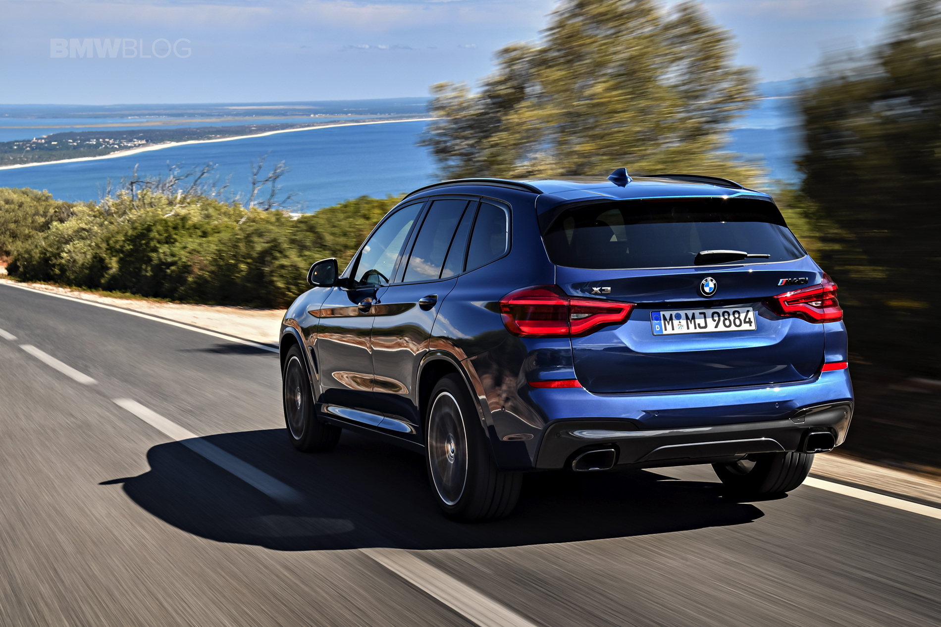 Bmw X3 M40i Shines Under The Portugal S Sun