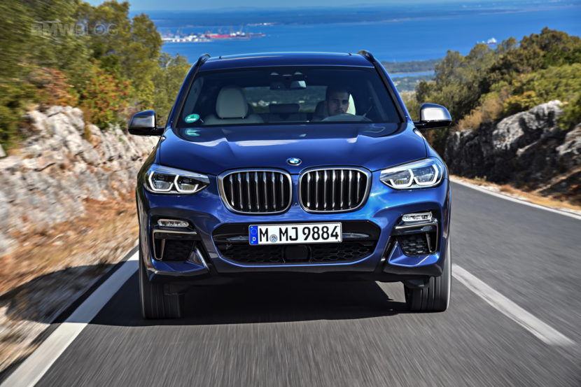 2018 BMW X3 M40i photoshoot 67 830x553