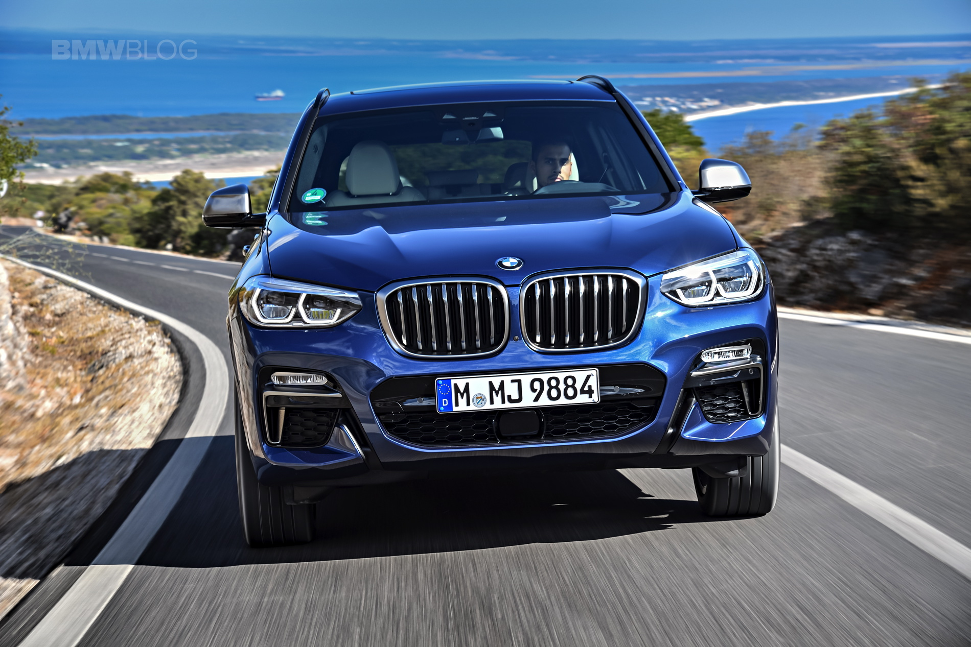 2018 BMW X3 M40i photoshoot 68
