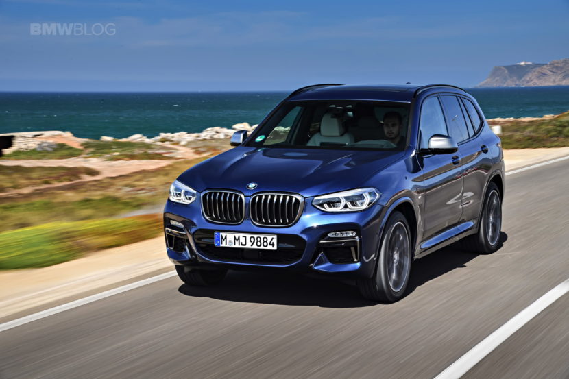 2018 BMW X3 M40i photoshoot 82 830x553
