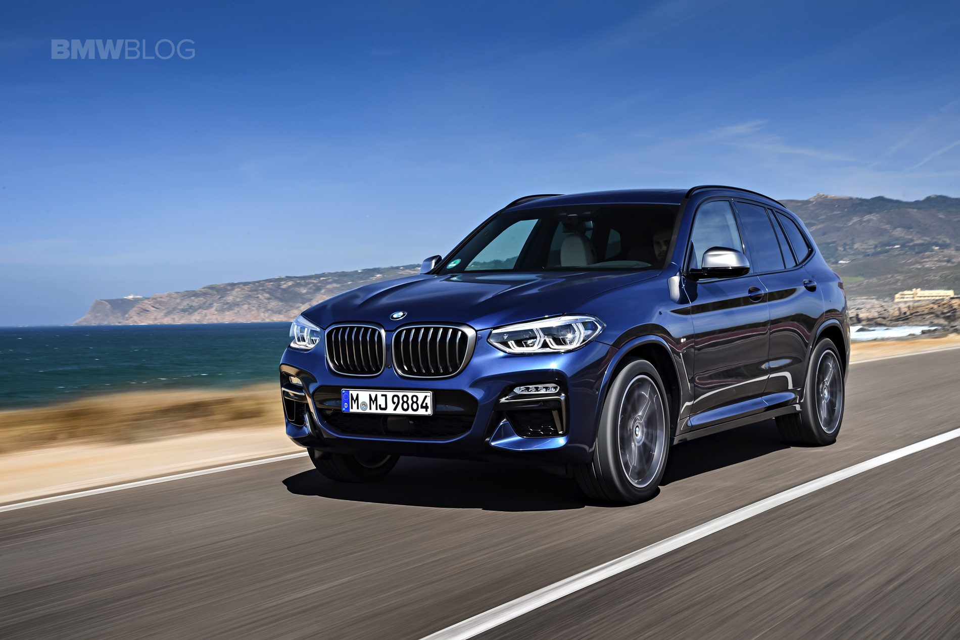 2018 BMW X3 M40i photoshoot 86