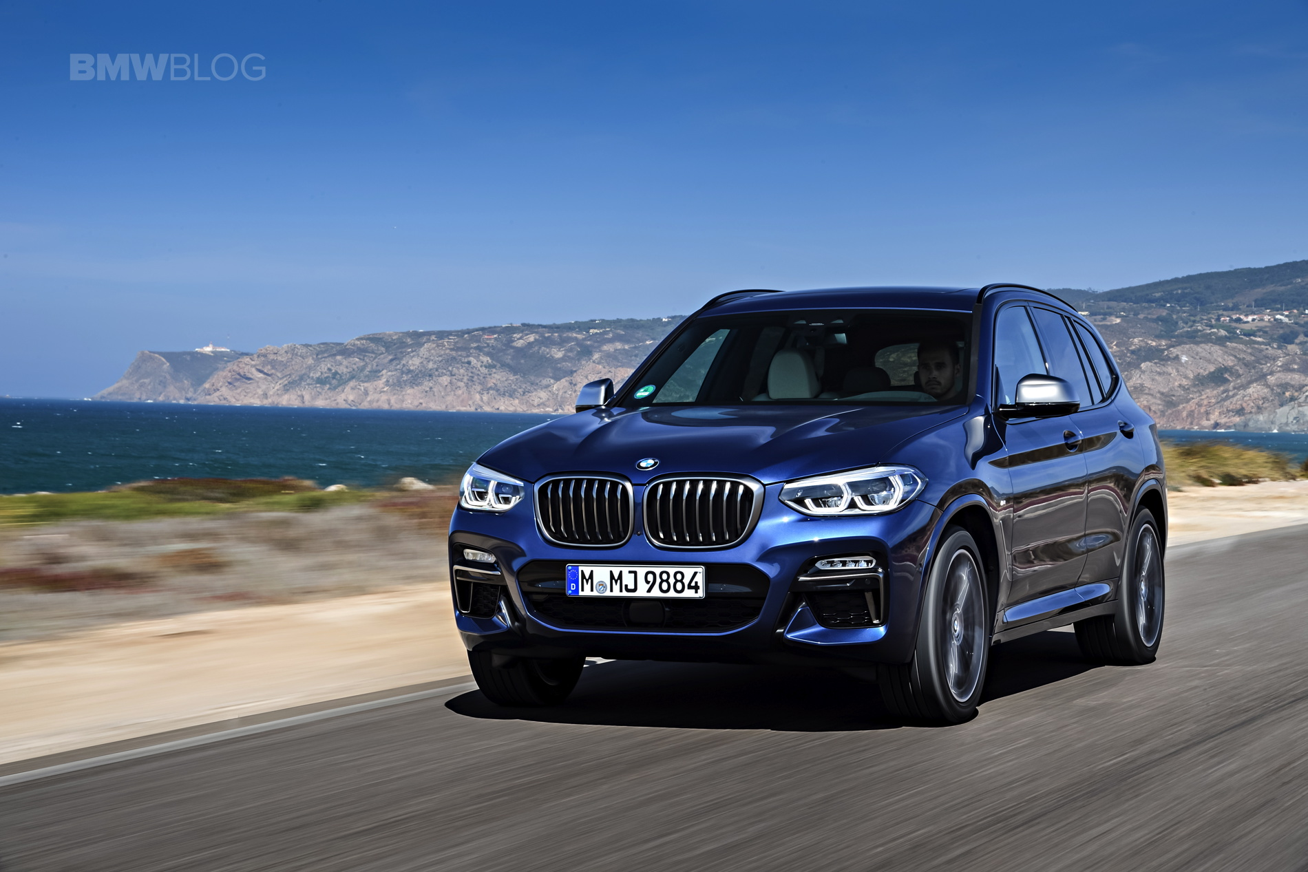 2018 BMW X3 M40i photoshoot 87