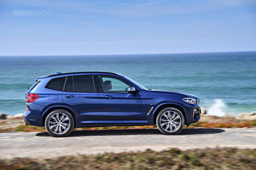 2018 BMW X3 M40i photoshoot 98 830x553