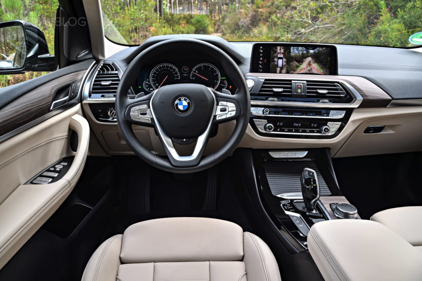2018 BMW X3 xDrive30D photoshoot 101 830x553
