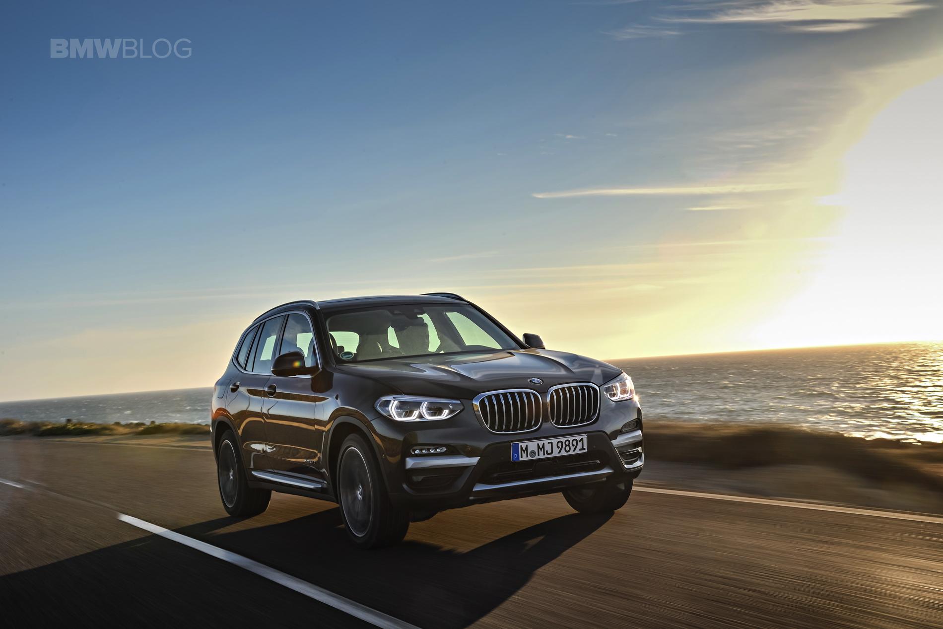 2018 BMW X3 xDrive30D photoshoot 34