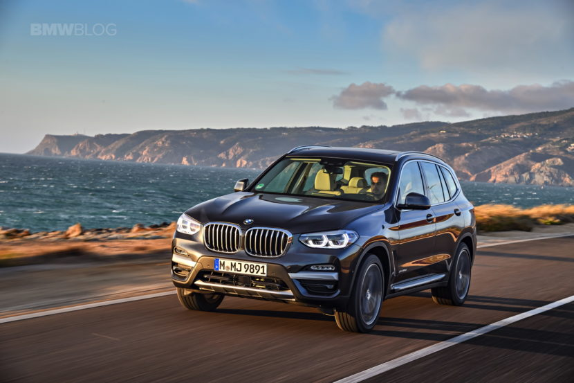 2018 BMW X3 xDrive30D photoshoot 38 830x553