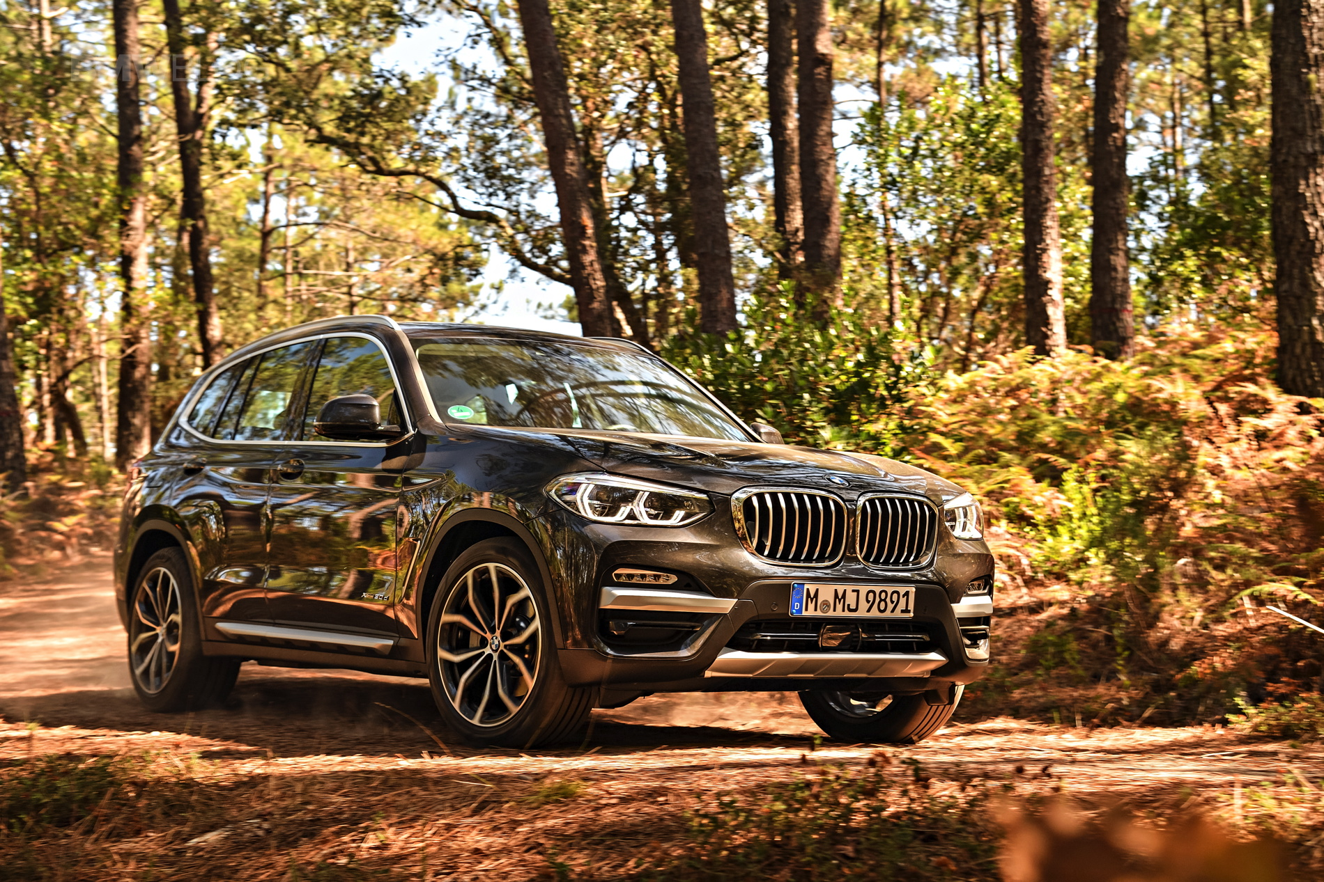 2018 BMW X3 xDrive30D photoshoot 63