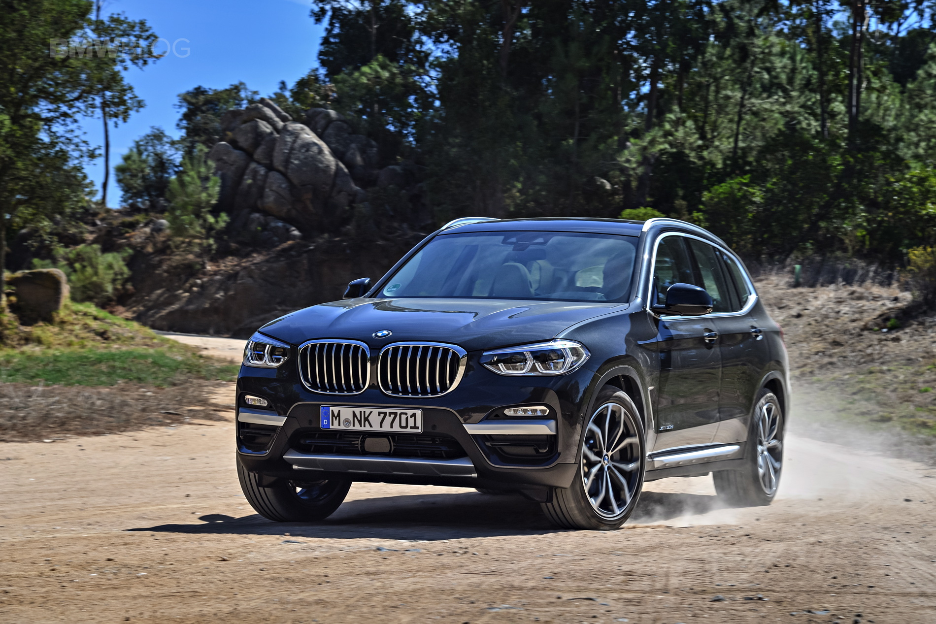 2018 BMW X3 xDrive30D photoshoot 76