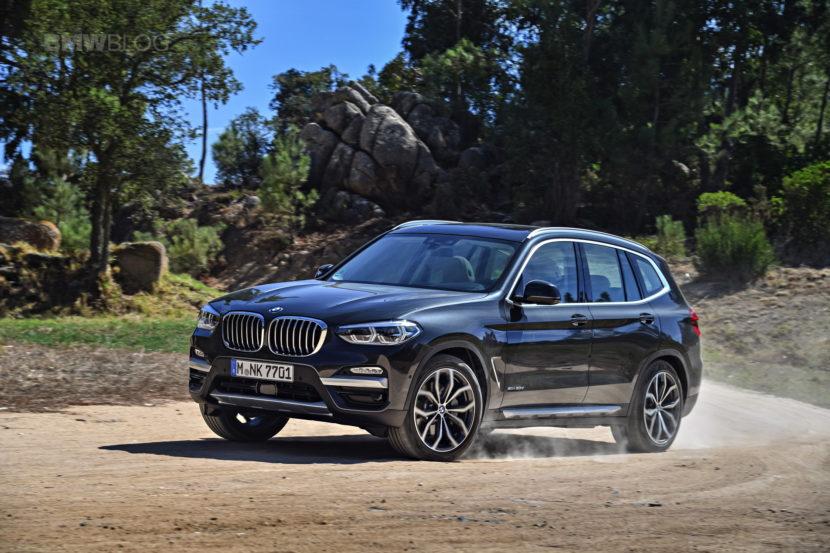 2018 BMW X3 xDrive30D photoshoot 81 830x553