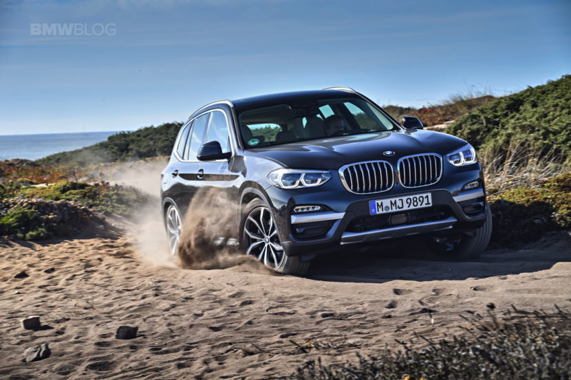 2018 BMW X3 xDrive30D photoshoot 86 830x553