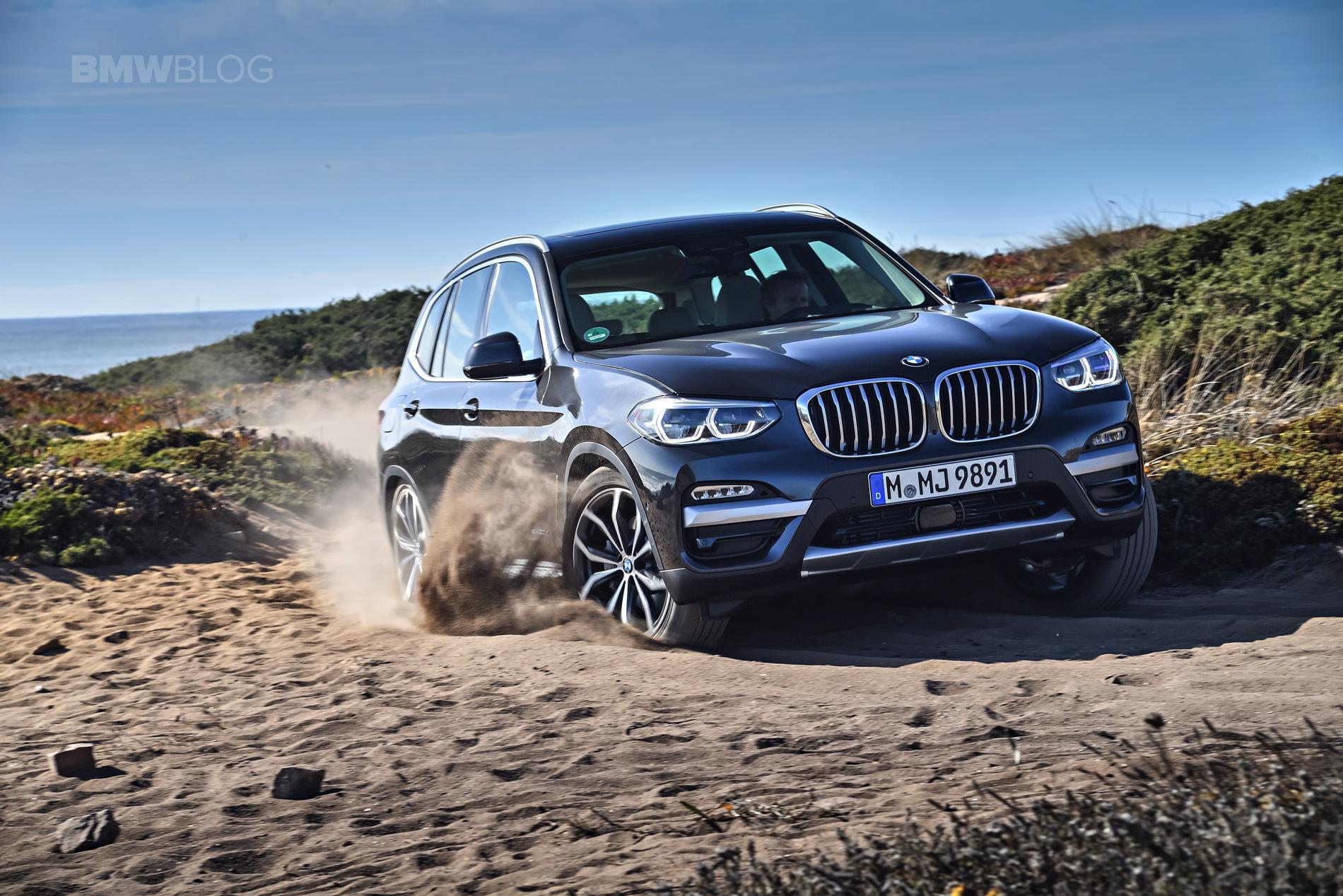 2018 BMW X3 xDrive30D photoshoot 86