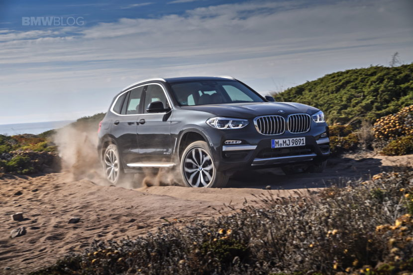 2018 BMW X3 xDrive30D photoshoot 91 830x553