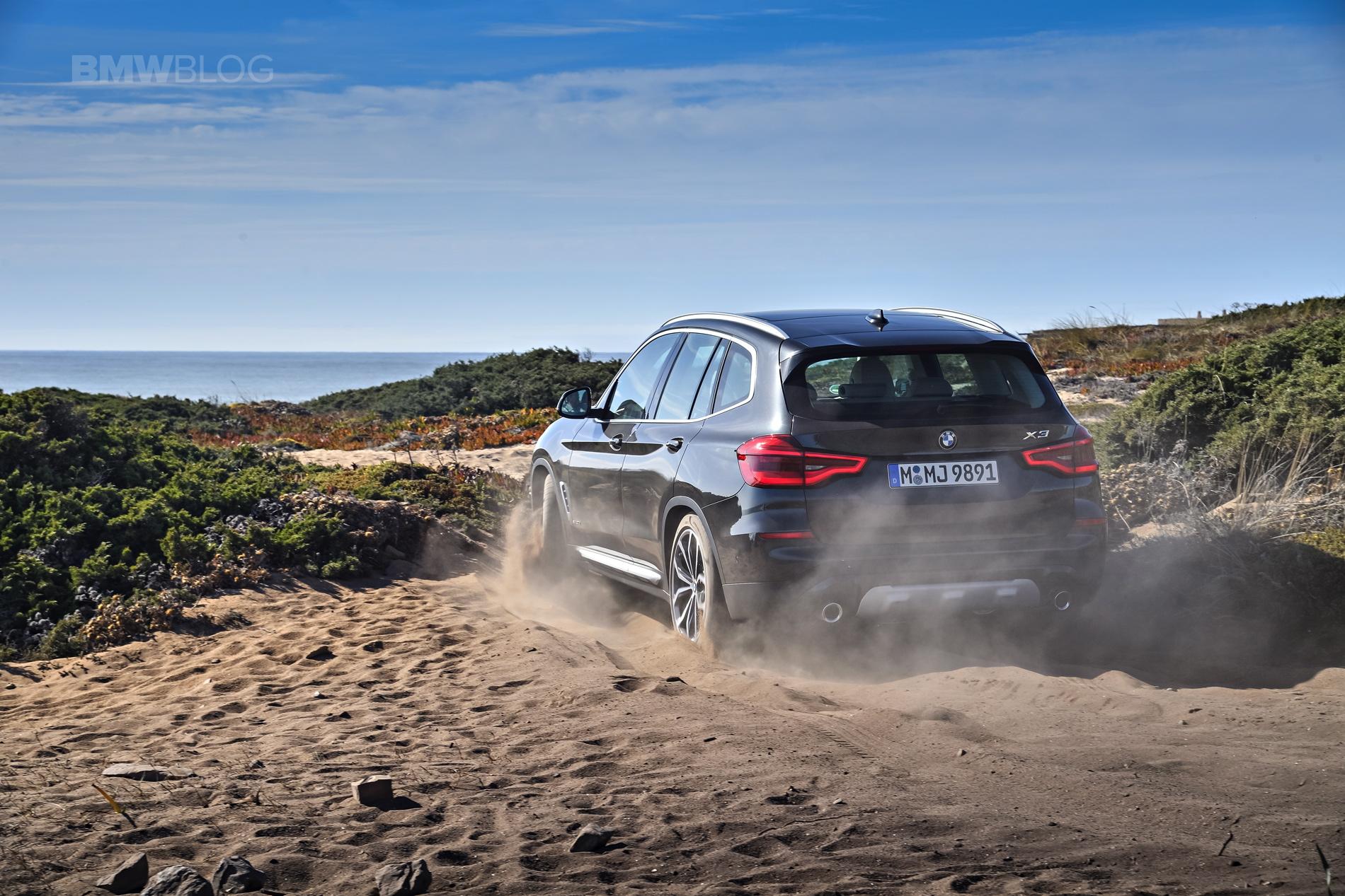 2018 BMW X3 xDrive30D photoshoot 92