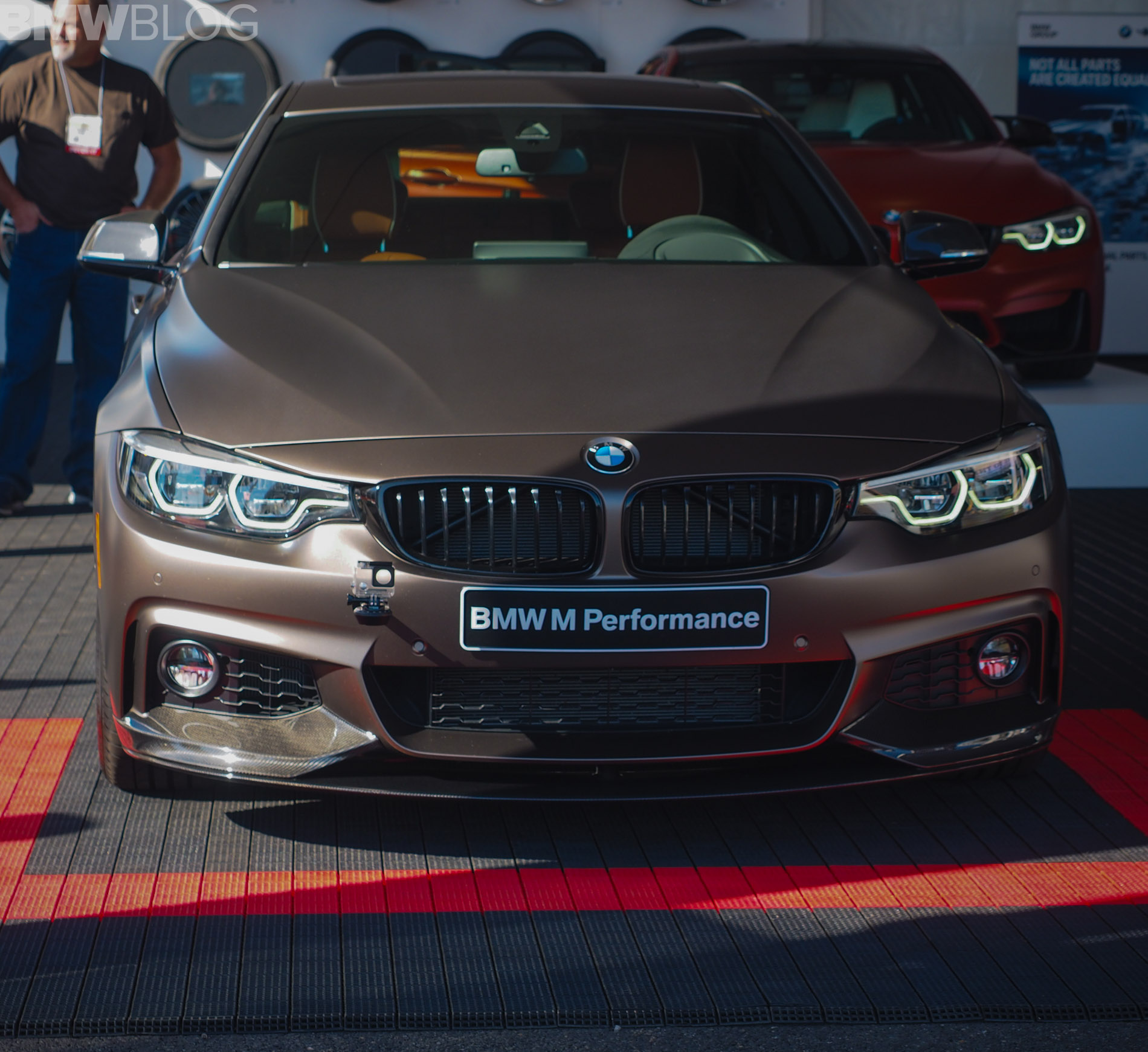 2017 SEMA Live Photos: BMW 440i Gran Coupe With M