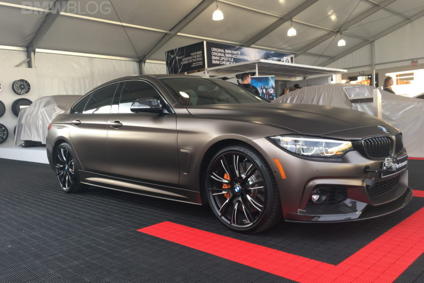 BMW 440i Gran Coupe SEMA 2017 images 02 830x553