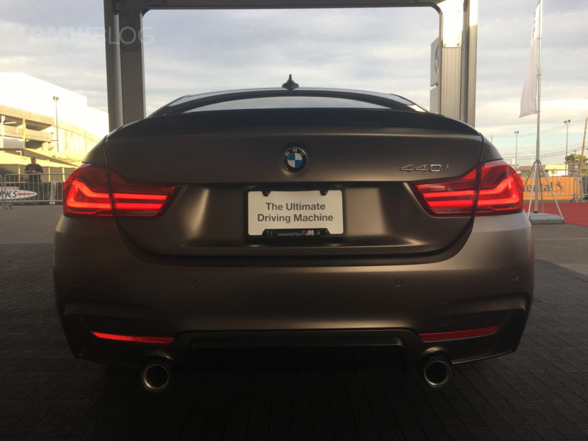 BMW 440i Gran Coupe SEMA 2017 images 03 830x623