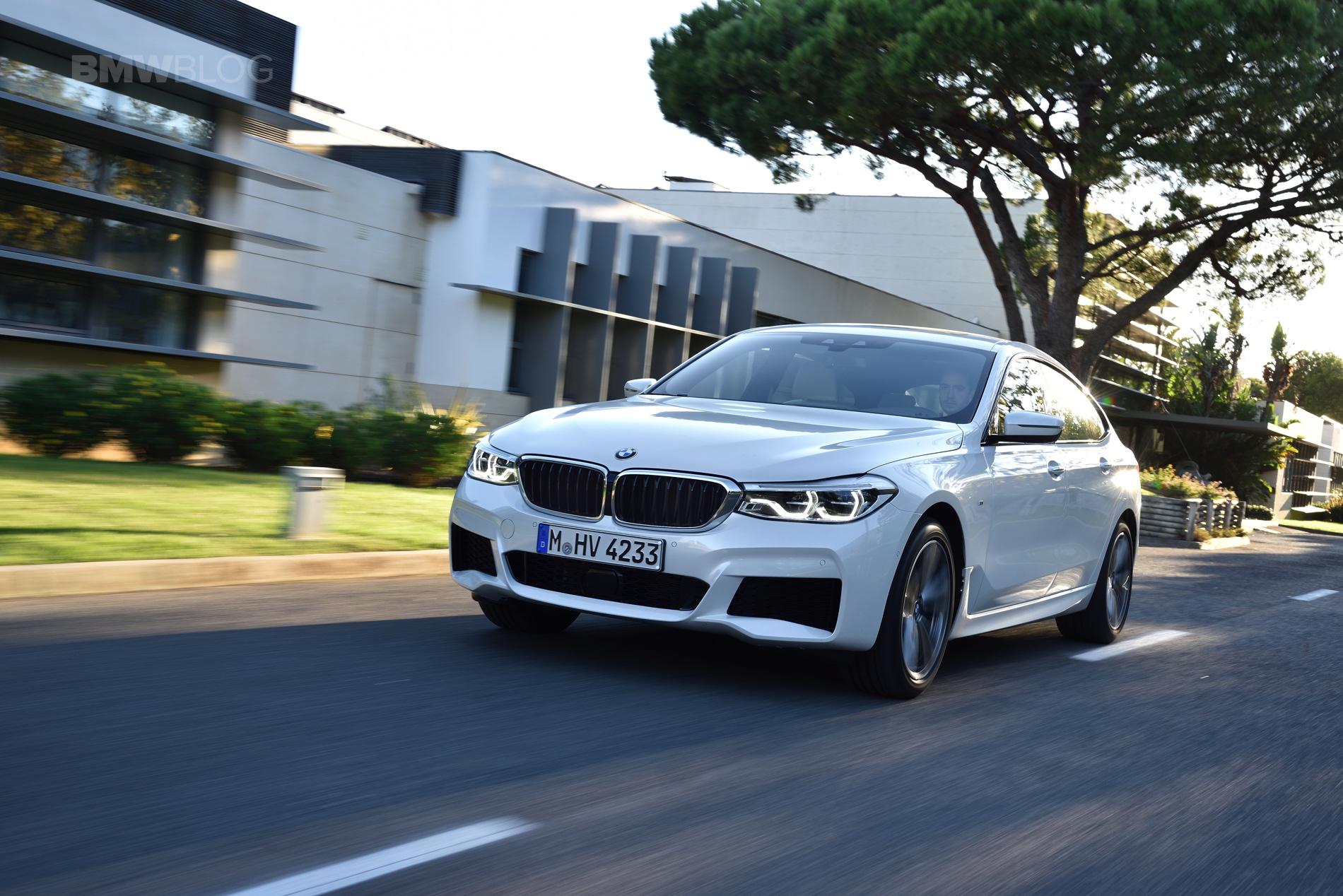 BMW 6 Series Gran Turismo GT test drive 25