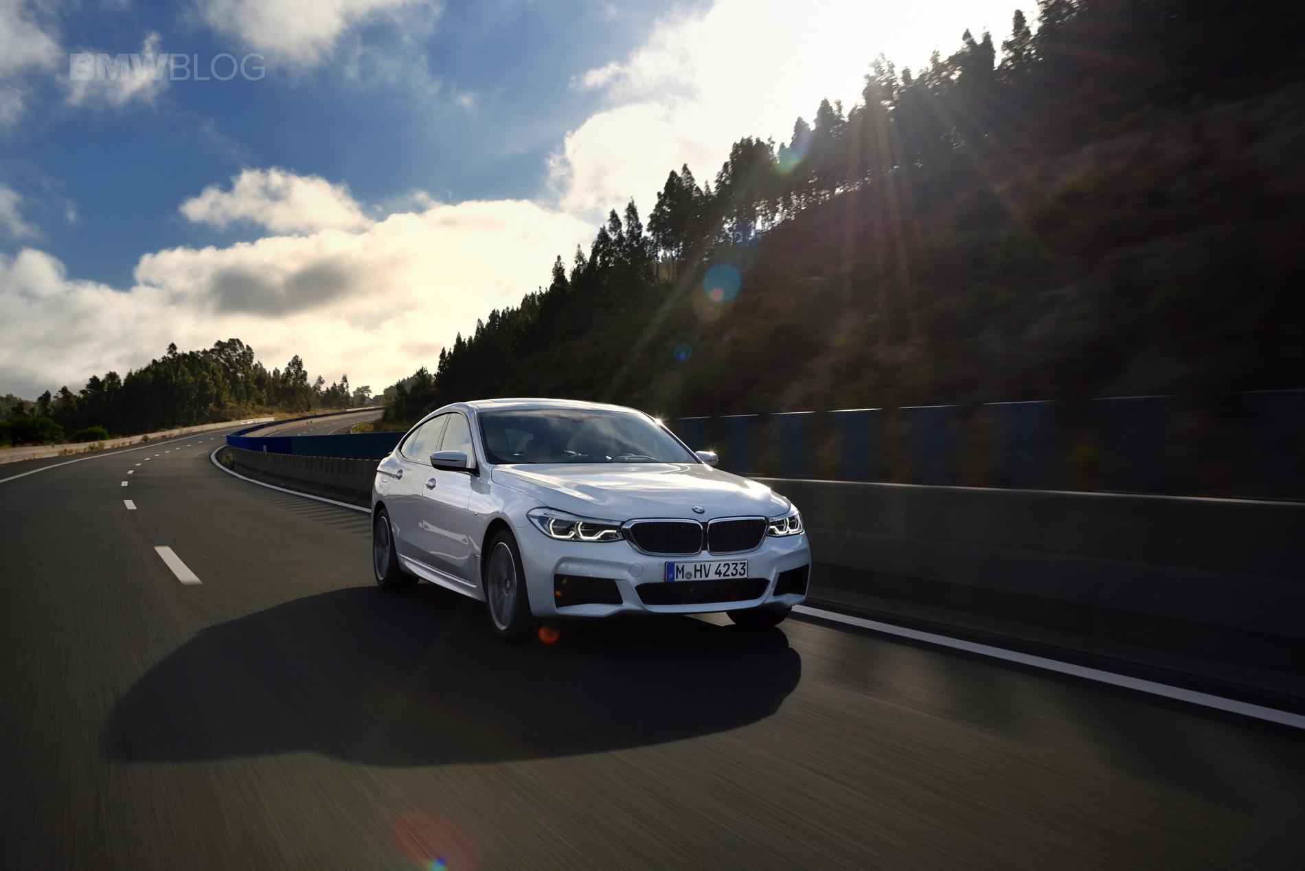 BMW 6 Series Gran Turismo GT test drive 37