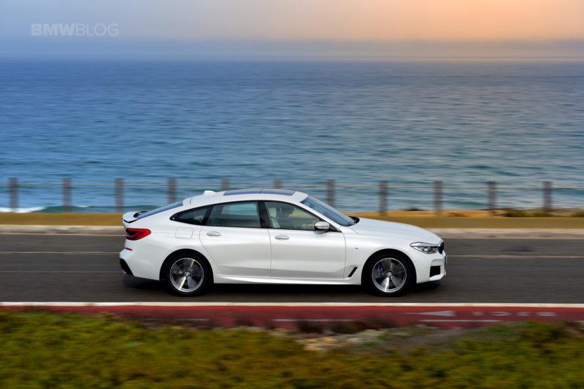 BMW 6 Series Gran Turismo GT test drive 53 830x553